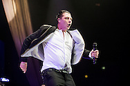 John Newman performs at The SSE Hydro on March 18, 2016 in Glasgow, Scotland.