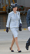 Princess Anne Attends 101 Squadron Centenary