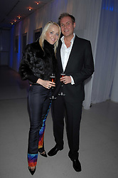 MR & MRS SEBASTIAN VAN DAM she was Clare Beckwith attending the Tag Heuer party where an exhibition of photographs by Mary McCartney celebrating 15 exception women from 15 countries was unveiled at the Royal College of Arts, Kensington Gore, London on 8th February 2007.<br /><br />NON EXCLUSIVE - WORLD RIGHTS