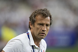 Assistant coach Fabien Galthie during 2019 Rugby World Cup warm-up match France v Italy at Stade De France on August 30, 2019 in Paris, France. France won 47-19. Photo by Loic Baratoux/ABACAPRESS.COM