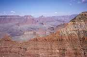 overhead view of grand canyon