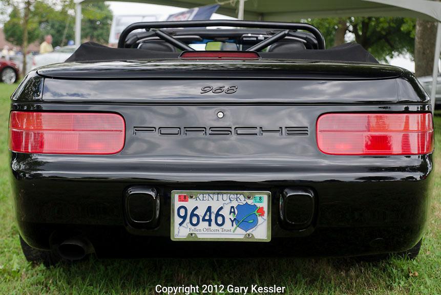 Porsche 968 , Keeneland Concours D'Elegance,Lexington,Ky.