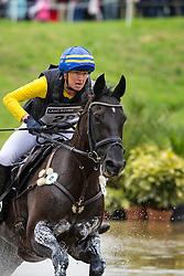Malin Petersen, (SWE), Sofarsogood - Eventing Cross Country test- Alltech FEI World Equestrian Games™ 2014 - Normandy, France.<br /> © Hippo Foto Team - Leanjo de Koster<br /> 30/08/14