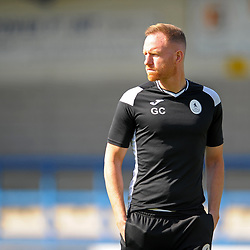TELFORD COPYRIGHT MIKE SHERIDAN Gavin Cowan during the National League North fixture between AFC Telford United and Nantwich Town on Saturday, September 21, 2019.<br /> <br /> Picture credit: Mike Sheridan<br /> <br /> MS201920-020