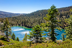 """""""Smith Lake 5"""" - Photograph of Smith Lake in California's Plumas National Forest."""