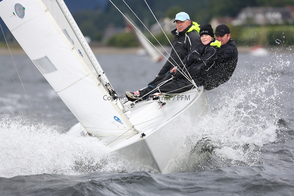 Marine Blast Regatta 2013 - Holy Loch SC<br /> <br /> 1173, Local Hero, Geoff Howison, OD, Etchells<br /> <br /> Credit: Marc Turner / PFM Pictures