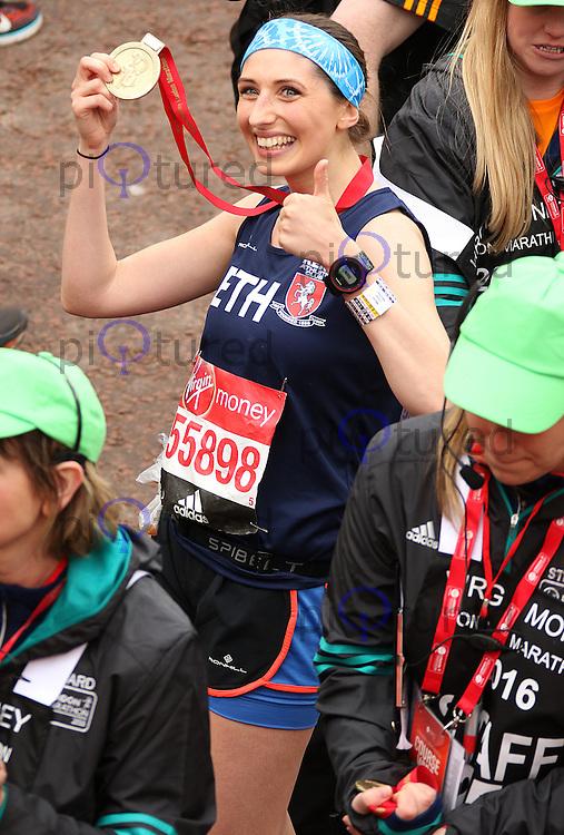 Bethanie Shakespeare, Virgin Money London Marathon, London UK, 24 April 2016, Photo by Brett D. Cove