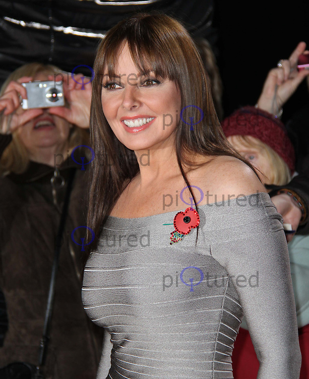 Carol Vorderman Galaxy National Book Awards, BBC Television Centre, White City, London, UK, 10 November 2010: piQtured Sales: Ian@Piqtured.com +44(0)791 626 2580 (picture by Richard Goldschmidt)