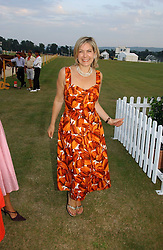 PENNY SMITH at the Cowdray Gold Cup Golden Jubilee Ball held at Cowdray Park Polo Club, on 21st July 2006.<br />