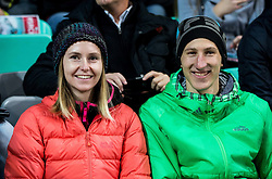 Katja Pozun and Nejc Dezman ahead to the football match between National teams of Slovenia and England in Round #3 of FIFA World Cup Russia 2018 Qualifier Group F, on October 11, 2016 in SRC Stozice, Ljubljana, Slovenia. Photo by Vid Ponikvar / Sportida