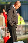 Hamilton Academicals Head Coach Brian Rice during the Ladbrokes Scottish Premiership match between St Mirren and Hamilton Academical FC at the Paisley 2021 Stadium, St Mirren, Scotland on 13 May 2019.