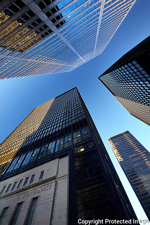 Skyscrapers, Downtown Toronto