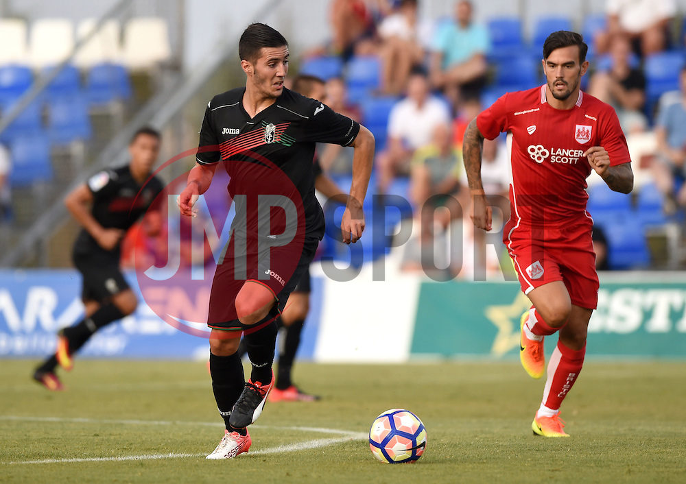 Sergi Guardiola of Granada  - Mandatory by-line: Joe Meredith/JMP - 20/07/2016 - FOOTBALL - Pinatar Arena - San Pedro del Pinatar, Murcia - Granada v Bristol City - Pre-season friendly