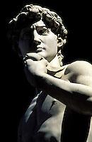 Italie - Toscane - Florence - Place de la segneurie - Statue du David de Michelange (copie) // Italy. Tuscany. Florence. Segueria place. Statue of David from Michelangelo Buonarroti.
