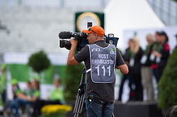 TV Broadcast - Individual Test Grade III Para Dressage - Alltech FEI World Equestrian Games™ 2014 - Normandy, France.<br /> © Hippo Foto Team - Jon Stroud <br /> 25/06/14
