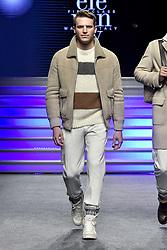 May 23, 2019 - Turin, italy - Turin. HOAS Event: Eleventy fashion show in the photo: model (Credit Image: © Riccardo Giordano/IPA via ZUMA Press)
