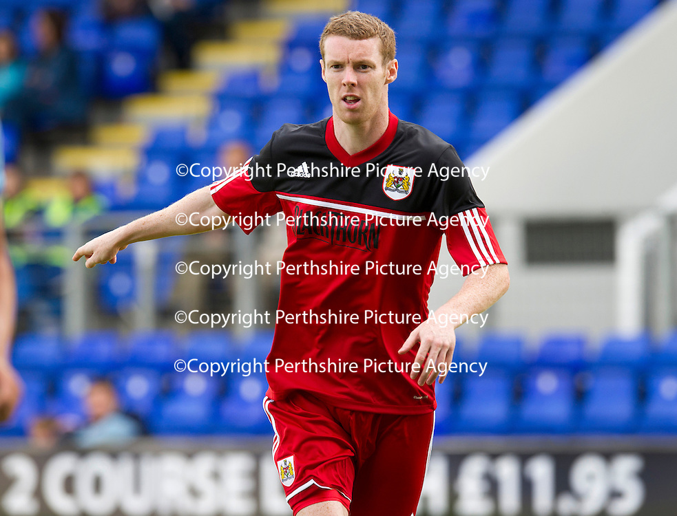 Bristol City FC.... Season 2012-13<br /> Stephen Pearson<br /> Picture by Graeme Hart.<br /> Copyright Perthshire Picture Agency<br /> Tel: 01738 623350  Mobile: 07990 594431