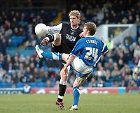 Photo: Ashley Pickering.<br />Ipswich Town v Swansea City. The FA Cup. 27/01/2007.<br />Ipswich's Billy Clarke blocks