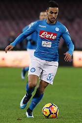 December 19, 2017 - Naples, Italy - ADAM OUNAS (SSC Napoli)..during the TIM Cup match between SSC Napoli and Udinese Calcio at Stadio San Paolo on December 19, 2017 in Naples, Italy. (Credit Image: © Paolo Manzo/NurPhoto via ZUMA Press)