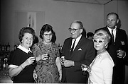 26/03/1966<br /> 03/26/1966<br /> 26 March 1966<br /> U.S. travel agents reception at the Intercontinental Hotel, Dublin.