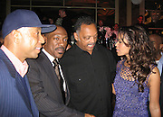 Russell Simmons,  Eddie Murphy, Rev. Jesse Jackson & Tracy Edmonds.Black Enterprise Magazine Party.Beverly Whilshire Hotel.Beverly Hills, California, USA.Wednesday, February 21, 2007.Photo By Celebrityvibe; .To license this image please call (212) 410 5354 ; or.Email: celebrityvibe@gmail.com ;