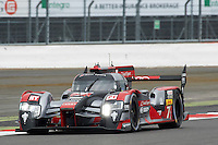Marcel Fassler (CHE) / Andre Lotterer (DEU) / Benoit Treluyer (FRA) #7 Audi Sport Team Joest Audi R18 e-tron quattro, WEC 6 Hours of Silverstone 2016 at Silverstone, Towcester, Northamptonshire, United Kingdom. April 15 2016. World Copyright Peter Taylor.