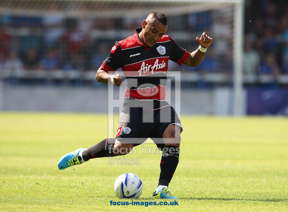 Picture by Rob Fisher/Focus Images Ltd +44 7450 945824<br /> 13/07/2013<br /> Danny Simpson of Queens Park Rangers during the pre season friendly match at London Road, Peterborough.