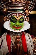 Kathakali  (the word &quot;kathakali&quot; literally means &quot;Story-Play&quot;) is one of the oldest theatre forms in the world, characteristic for  the south Indian state of Kerala. It has a long tradition dating back to the 17th century.&nbsp; <br />