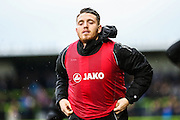 Forest Green's Sam Wedgbury warms up during the Vanarama National League match between Forest Green Rovers and Eastleigh at the New Lawn, Forest Green, United Kingdom on 20 February 2016. Photo by Shane Healey.
