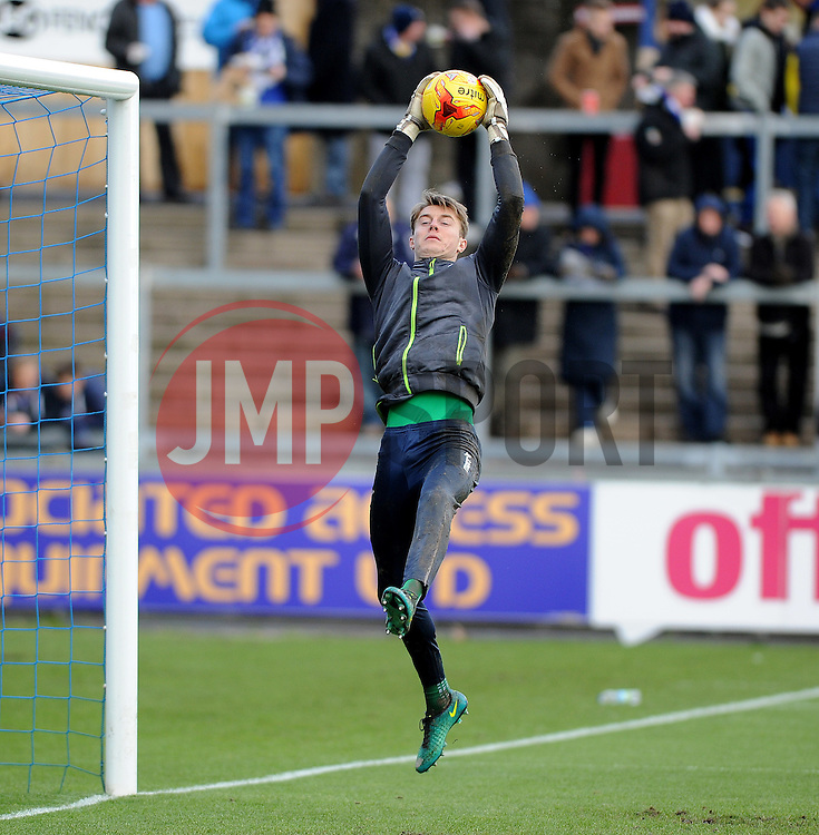 Joe Lumley of Bristol Rovers - Mandatory by-line: Neil Brookman/JMP - 28/01/2017 - FOOTBALL - Memorial Stadium - Bristol, England - Bristol Rovers v Swindon Town - Sky Bet League One