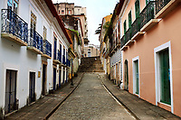 view of the historic center of the city of sao luis of maranhao in brazil