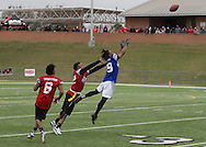 Super Bowl 51 - 16th Annual Celebrity Flag Football Challenge, Rhodes Stadium,  4 Feb 2017, Katy TX, Red Team Captain Kirk Cousins would lose for the 2nd straight year to Doug Flutie's Blue team by a final score of 40-35.
