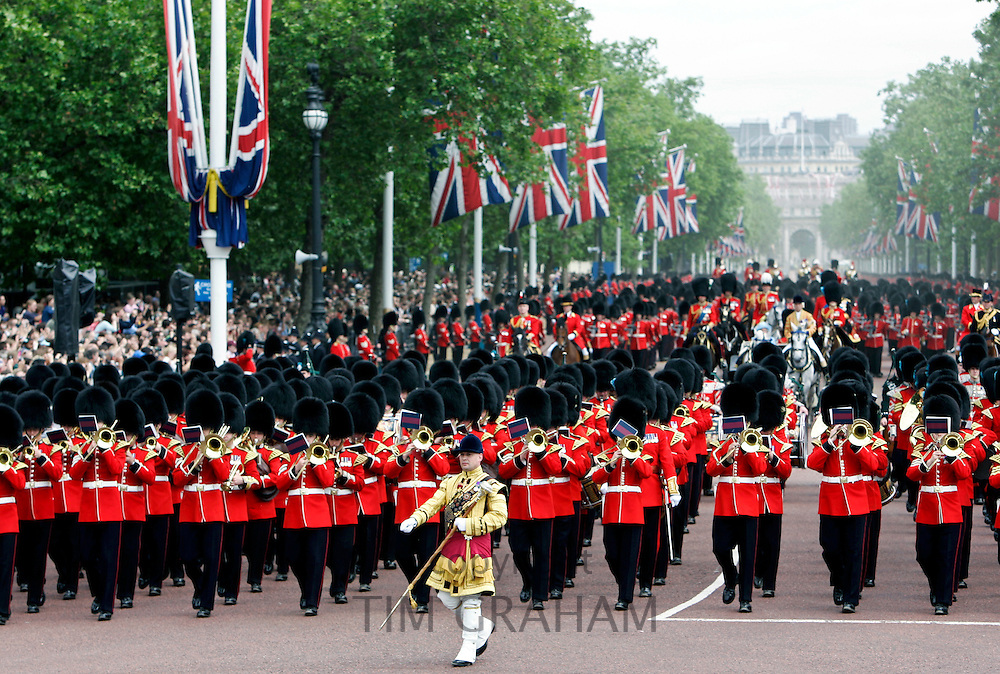 Trooping The Colour, The Mall, London, United Kingdom.
