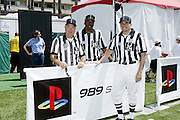 Officials and NFL players participated in the 2004 NFL Quarterback Challenge in Santa Monica, CA on 04/24/2004. ©Paul Anthony Spinelli