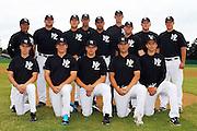 New Zealand Baseball team headshots, portraits and team photo sesison. Howick-Pakuranga Baseball Grounds, Lloyd Elsmore Park, Auckland. 2 November 2012. Photo: William Booth/photosport.co.nz