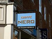 Caffe Nero Italian Coffee company sign