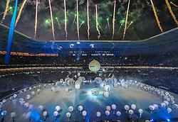 Cerimônia de inauguração da Arena do Grêmio com espetáculo e jogo entre Grêmio e Hamburgo(da Alemanha). FOTO: Jefferson Bernardes/Preview.com