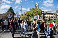 AI180928 Dunedin - Editorial, University of Otago Protest 28 September 2018