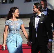 Wedding of Prince Carl Phillip of Sweden and Sofia Hellqvist, 12-06-2015