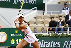 May 27, 2019 - Paris, France - Vitalia Diatchenko during ladies singles first round match between Serena Williams and Vitalia Diatchenko of Russia during Day two of the 2019 French Open at Roland Garros on May 27, 2019 in Paris, France. (Credit Image: © Ibrahim Ezzat/NurPhoto via ZUMA Press)