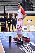 Cervi Riccardo<br /> FIAT Torino - Grissin Bon Reggio Emilia<br /> Lega Basket Serie A 2018-2019<br /> Torino 03/02/2019<br /> Foto M.Matta/Ciamillo & Castoria