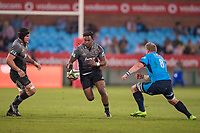PRETORIA, SOUTH AFRICA - MAY 06: Seta Tamanivalu of the Crusaders in action during the Super Rugby match between Vodacom Bulls and Crusaders at Loftus Versfeld on May 06, 2017 in Pretoria, South Africa.<br /> (Photo by Anton Geyser/Gallo Images)