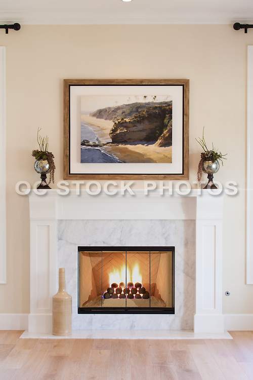 Marble Fireplace Detail