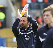 Dundee manager Paul Hartley  - Dundee v Dundee United, SPFL Premiership at Dens Park<br /> <br />  - &copy; David Young - www.davidyoungphoto.co.uk - email: davidyoungphoto@gmail.com