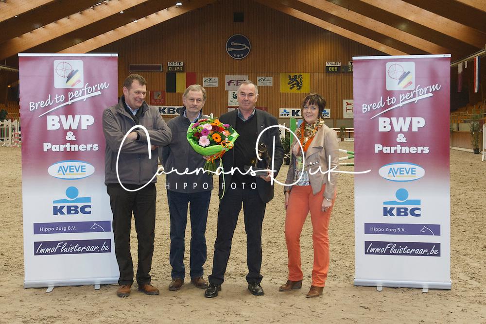 BWP Award: Kluskens Marc<br /> BWP Hengstenkeuring 2014<br /> Zilveren Spoor Moorsele 2014<br /> &copy; Dirk Caremans