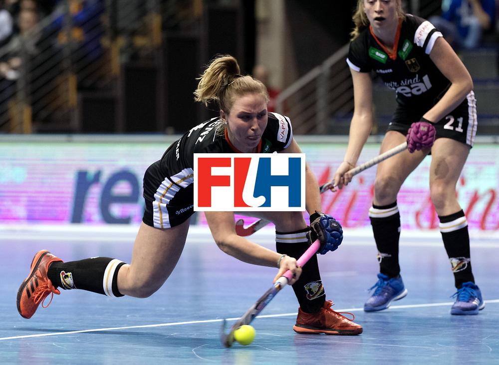 BERLIN - Indoor Hockey World Cup<br /> Women: Germany - Namibia<br /> foto: Nike Lorenz.<br /> WORLDSPORTPICS COPYRIGHT FRANK UIJLENBROEK