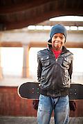 Skater Portrait taken on the Atlantic City Boardwalk