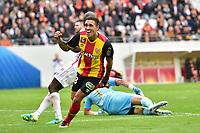 FOOTBALL : RC Lens vs Reims - Domino s L2 - joie des joueurs de Lens apres le but de KLONARIDIS Viktor (RC Lens)<br /> Norway only