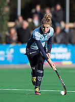 BILTHOVEN - HOCKEY -  Vicky van den Broek van Laren tijdens  de hoofdklasse competitiewedstrijd tussen de dames van SCHC en LAREN (2-2). COPYRIGHT KOEN SUYK