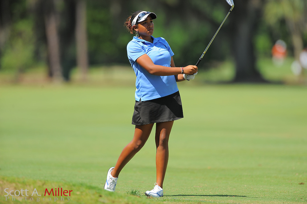 Ginger Howard during the second round of the Symetra Tour's Florida's Natural Charity Classic at the Lake Region Yacht and Country Club on March 25, 2012 in Winter Haven, Fla. ..©2012 Scott A. Miller.